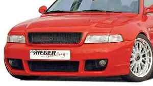 Audi A4 B5 1996 2001 Rieger Oem Genuine Front Bumper Rs4 Abs Plastic Brane New