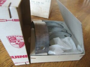 Genuine Porsche 356 S90 C Sc 912 Main Bearing Shell 616 101 132 50 Set Of 4
