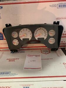 03 Dodge Ram Truck 4 7 V8 5 Speed Mt 4x4 Speedometer Gauge Instrument Cluster