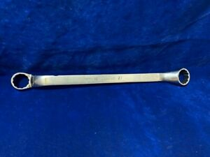 Snap On 18 21 Mm 12 Point Metric Flank Drive Offset Double Box Wrench Xbm1821