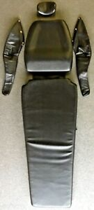 Belmont Bel 50 Dental Chair Black taupe Replacement Upholstery Set New Open Box