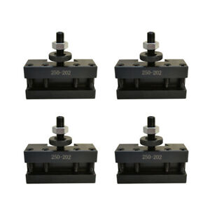 T1013 Bxa 2 Set Of 4 10 15 Quick Change Cnc Tool Post Boring Holder 250 202