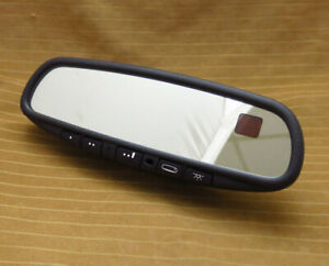 Sebring Stratus Coupe Rear View Mirror 01 05 Compass Temp Light Gntx 341 015614