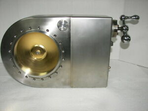 High Vacuum Research Chamber Manual Gate Valve 8 flange Nice
