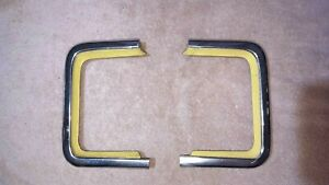 1965 66 67 68 69 Corvair Rear Cove Filler And Chrome Moulding Corsa Monza