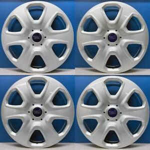 2012 2016 Ford Focus S 7058 15 Hubcaps Wheel Covers Oem Cv6z1130a Set 4