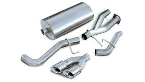 Corsa Performance 14220 Sport Cat back Exhaust System Fits 02 06 Escalade Yukon