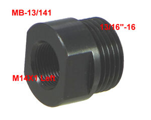 M14x1 Lh To 13 16 16 Male Thread Adapter Of Oil Filter Steel Mb 13 141l