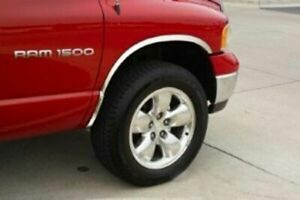Fender Trim For Dodge Ram 1500 2500 3500 02 08 Stainless Steel Full Arch 2 Wide