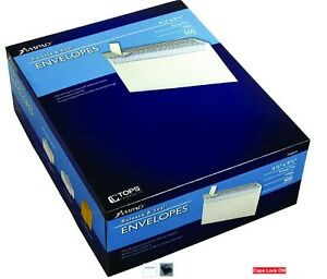 No 10 Security Tint Peel Strip Seal Business Envelopes 500 Count 4 1 8 X 9 1 2
