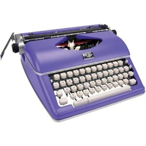 Royal 79119q Classic Manual Typewriter Purple