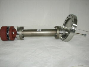 Huntington High Vacuum Research Chamber Prob Mdc Del Seal 6 Stainless Flange