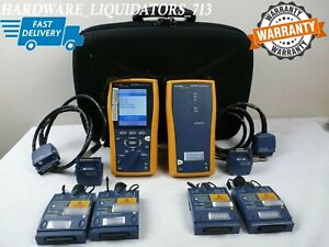 Fluke Dtx 1800 Cable Analyzer Smart Remote Cat6 With 2 Dtx mfm2 Fast Shipping
