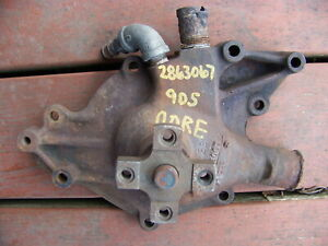 1967 68 69 Dodge Dart Plymouth Barracuda 273 318 340 Water Pump Oem 2863067