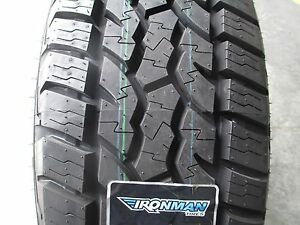 4 New 255 70r18 Ironman All Country At Tires 255 70 18 R18 2557018 A t 70r