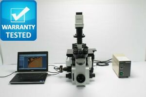 Olympus Ix70 Inverted Fluorescence Phase Contrast Microscope Unit4