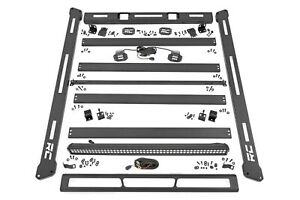 Rough Country Roof Rack System W o Led Lights For 18 20 Jeep Jl Wrangler 10622