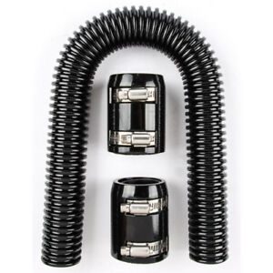 24 Radiator Hose Black Universal For Ford Chevy Dodge Etc Ships Free