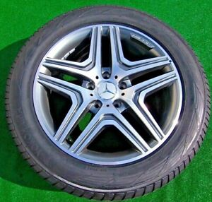 Factory Mercedes Benz G63 Wheels Tires 4 Perfect Genuine Oem Amg 20 Inch G55 G65