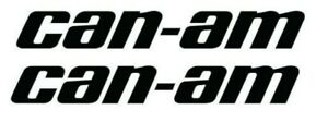 Can Am Pair 5 9 11 16 Decal Stickers 17 Colors