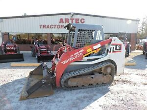 2017 Takeuchi Tl8 Skid Steer Loader Watch Video Only 871 Hours