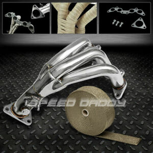Manifold Header exhaust heat Wrap For 90 99 Toyota Celica Gt gts 2 2l 5s fe