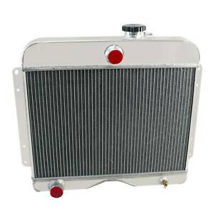 4 Row Aluminum Radiator For 1946 64 48 Jeep Willys Station Wagon Truck 475 L4 L6