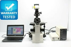 Nikon Eclipse Te200 Inverted Fluorescence Phase Contrast Microscope