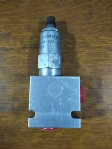 Hydraforce Differential Area Poppet Relief Valve Rv10 22a 0 n 35 20 Sae 8 Ports
