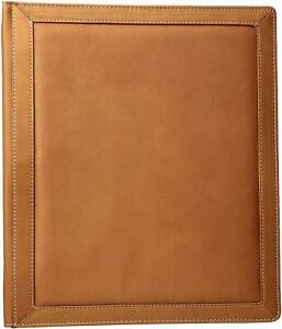 New Piel Leather Three ring Binder Sa Saddle Free2dayship Taxfree
