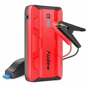 1000a Peak Portable Car Jump Starter Auto Battery Booster Power Bank W Usb Ports