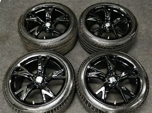 Factory Nissan 370z Forged Rays 19 Oem Wheels Tires Black Rims Infiniti G37