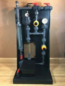Chemical Feed Pump Skid Without Pump Per Description Attached