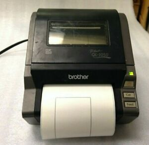 Brother Ql 1050 P touch Label Printer W Cable