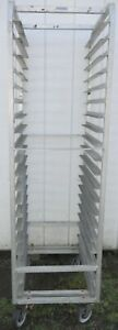 Aluminum Baker s Sheet bun 20 Pan Rack Channel Manufacturing