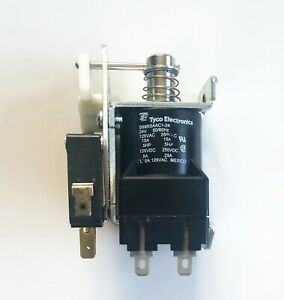 S89r5aac1 24 1423986 6 Tyco p b 24vac 15a Spdt Latching Impulse Relay
