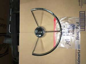 1960 1963 Ford Falcon Horn Ring Very Shiny Used Oem