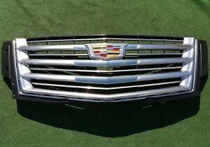 Factory Cadillac Escalade Grille Platinum 23399559 2015 2019 New Genuine Gm Oem
