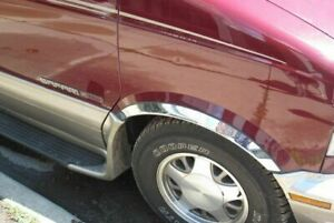 Chevy Astro 1995 2005 Qmi 146003 Polished Fender Trim Stainless Steel Molding