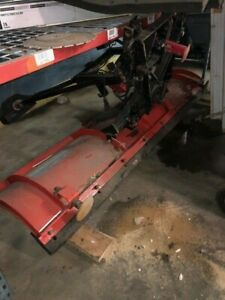 Used Western 8 6 Pro Plow Snow Plow Red Heavy Duty Professional