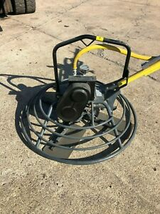 Cement Concrete Finisher Power Trowel Air Motor Powered Power Trowel Air