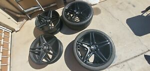Xo Luxury Caracas 255 20inch Rims Matte Black Set Of 4 W 2 Tires