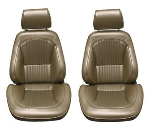 Standard Touring Ii Fully Assembled Seats 1968 Mustang Your Choice Of Color