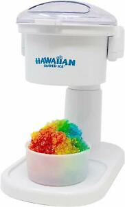 Hawaiian Shaved Ice S700 Kid friendly Snow Cone Machine 120v White