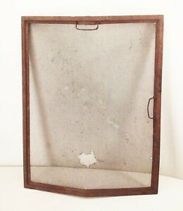 Vtg Antique Ford Model T A Auto Car Grill Stone Guard Wire Mesh Screen Insert