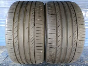 2 Continental Sport Contact5 Ssr Rft 315 35 20 Bmw 7 5 7 75 32nd Tread Left 110w