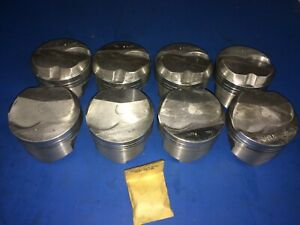 Chevy 454 Trw Dome Top Forged Pistons L2307a Std Ls7 Made In Usa Bbc Speed Pro