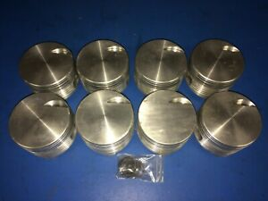 Chevy 427 Flat Top Forged Pistons Jahns Made In Usa Bbc