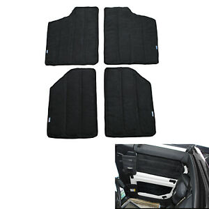 4x Hardtop Sound Deadener Headliner Insulation For 2 door Jeep Wrangler Jk 12 17