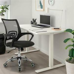 Modern Ergonomic Mid back Mesh Fabric Back Computer Desk Office Swivel Chair